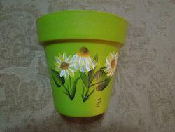 Daisy flowerpot